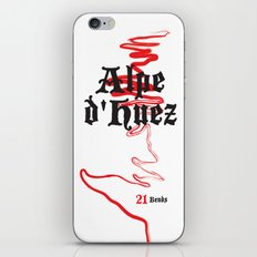 Famous Climbs: Alpe d'Huez 2, Old World iPhone & iPod Skin