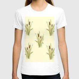 summer cattails T-shirt