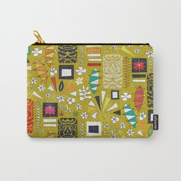 tiki yellow Carry-All Pouch