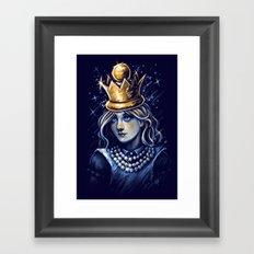 Queen Alice Framed Art Print