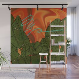 Dance with the Bird of Paradise Wall Mural