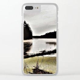 damp Clear iPhone Case