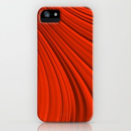 Renaissance Red iPhone Case