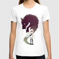 wolf T-shirts featuring Werewolf by Freeminds