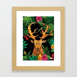 Keeper of the key Framed Art Print