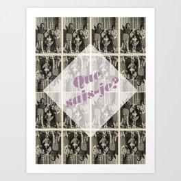 Montaigne 2 Art Print