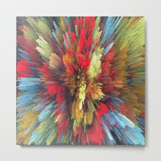 Abstract painting 101 Metal Print