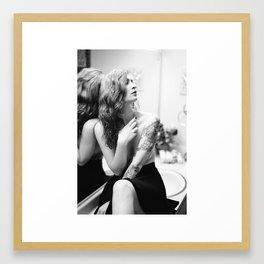Her Demise Framed Art Print