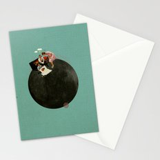 Life on Earth | Collage Stationery Cards