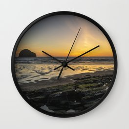 Sun and Coast Wall Clock