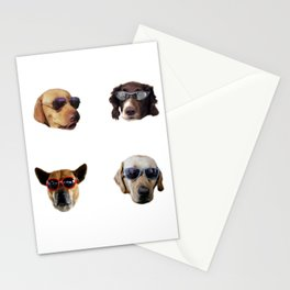Cool Dogs Stationery Cards