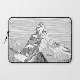 Mount Everest Black and White Laptop Sleeve