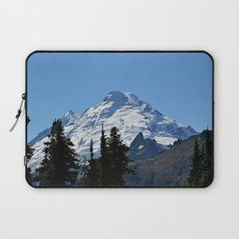 Snow Cap on the Mountain Laptop Sleeve