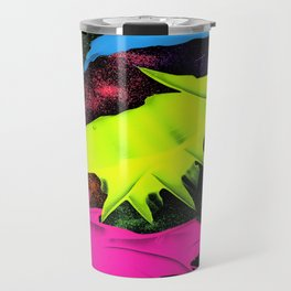 paint and glitter Travel Mug