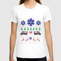 nordic T-shirts featuring Nordic Paramedic Grey by Gregovsky D.