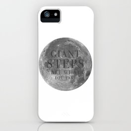 Giant steps | W&L003 iPhone Case