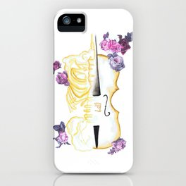 The Anatomy of Strings iPhone Case