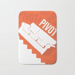 Pivot Friends Couch Art Bath Mat