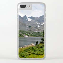 Indian Peaks Wilderness, Colorado Clear iPhone Case