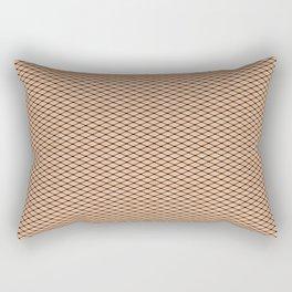 Fishnets and Skin Texture Rectangular Pillow