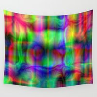 party Wall Tapestries featuring Party. by Assiyam