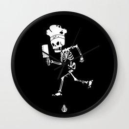 Miss Peregrine skeleton 1 Wall Clock