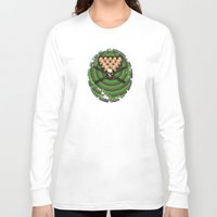 games Long Sleeve T-shirts featuring Heads will roll! by Alan Hogan