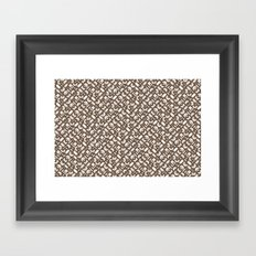 Control Your Game - Coffee Framed Art Print