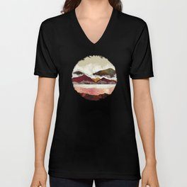 Melon Mountains Unisex V-Neck