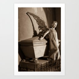 Milano Angel Art Print