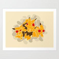Cubismoon Art Print