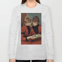 """Auguste Renoir """"The Two Sisters"""" Long Sleeve T-shirt"""