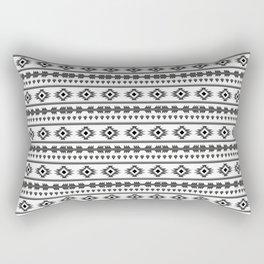 Aztech pattern Rectangular Pillow
