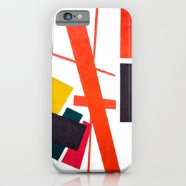 Kazimir Malevich - Suprematism: Abstract Composition (new editing) iPhone Case