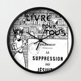 La Suppression des jésuites Wall Clock