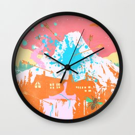 ARROW MOUNTAIN Wall Clock