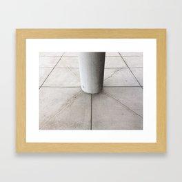 Hold Your Ground Framed Art Print