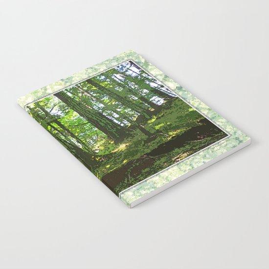 SUNNY SUMMER FOREST Notebook