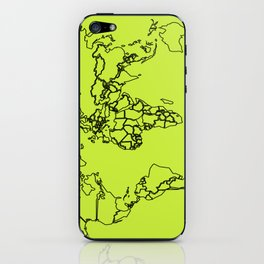 Sovereign Map iPhone Skin