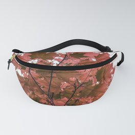 Red Maple Fanny Pack