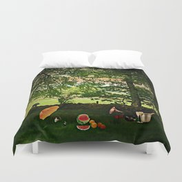 Come Share a Picnic Duvet Cover