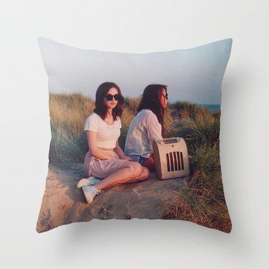 retro Throw Pillow
