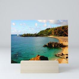 Waimea Bay ... By LadyShalene Mini Art Print