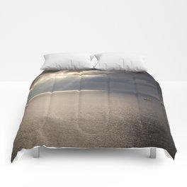 Ship on the Sea Comforters