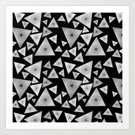 Pyramid I Art Print
