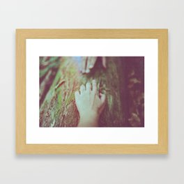 Follow me II Framed Art Print