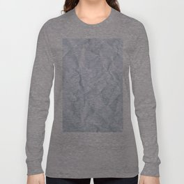 Crushed Paper Long Sleeve T-shirt