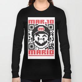 MARIO BROS Long Sleeve T-shirt