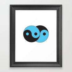 Reflections of Yin and Yang Framed Art Print