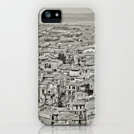 Siena, Italy, Cityscape iPhone Case